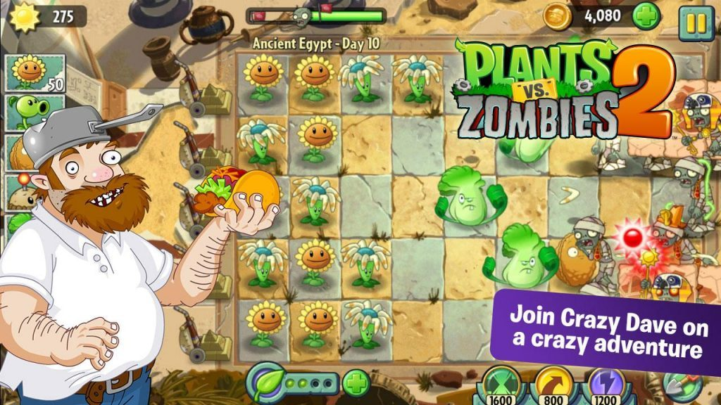 plants vs zombies 2 mod