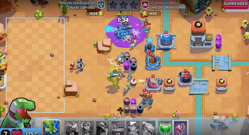 Rush Wars Mod Apk